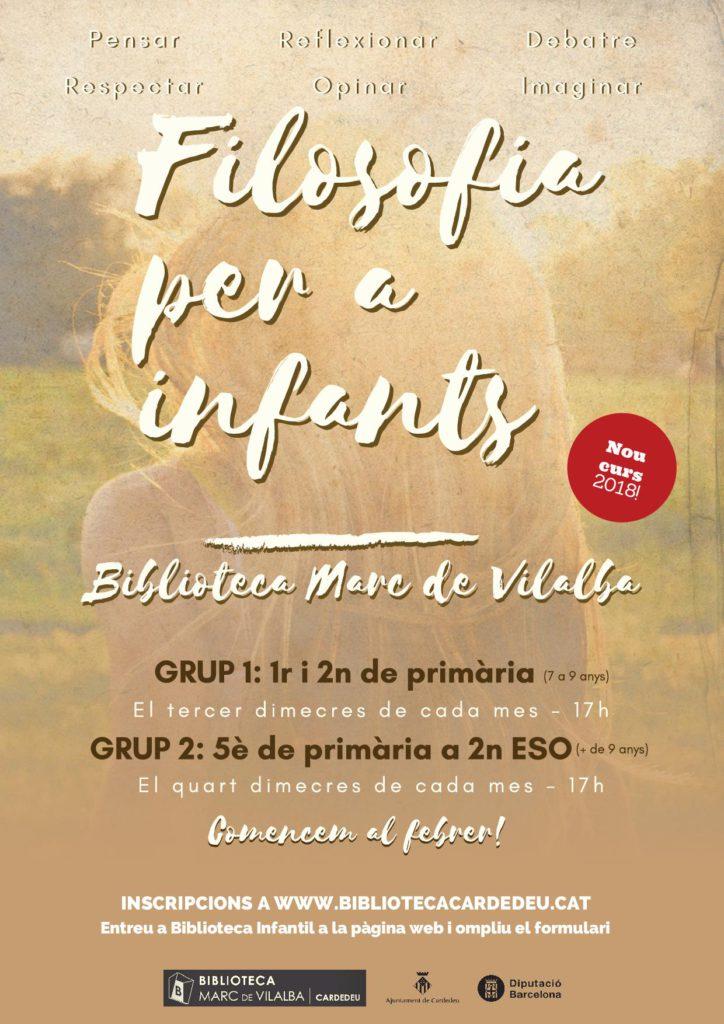 FILOSOFIA INFANTS 2018