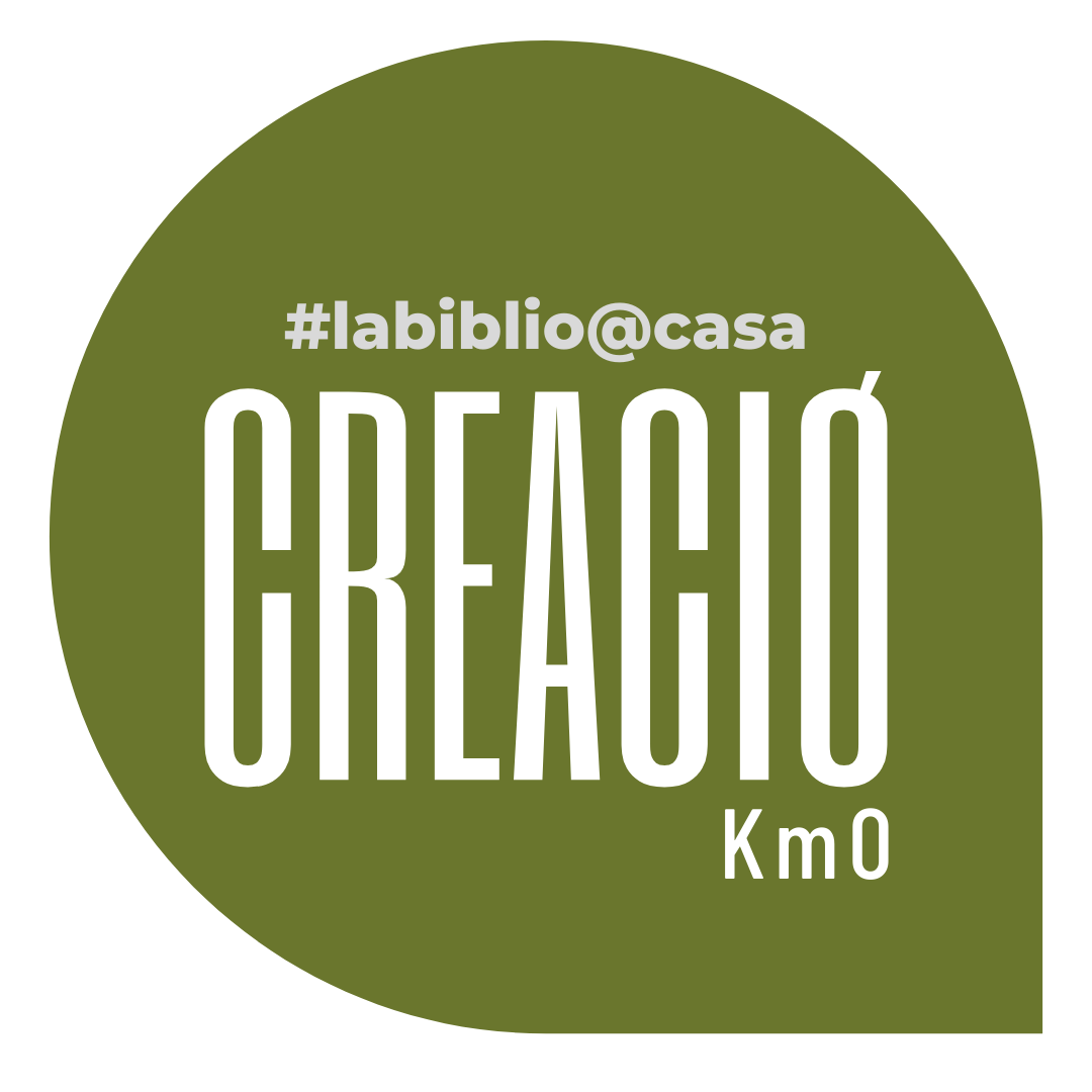 Trobareu totes les iniciatives de CREACIÓ de #labiblio@casa