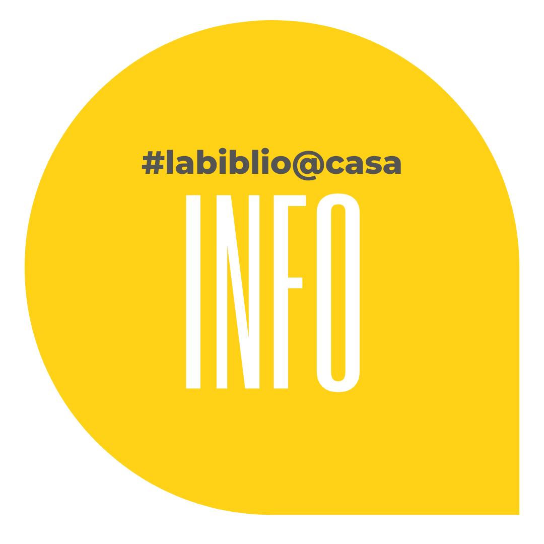 Trobareu tots els tips d'INFO de #labiblio@casa