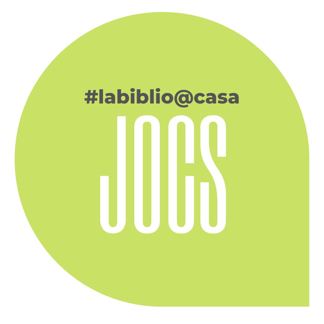 Trobareu tots els JOCS de #labiblio@casa